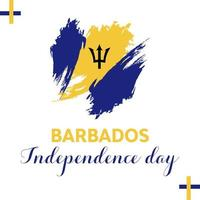 Barbados independence day wallpaper and card