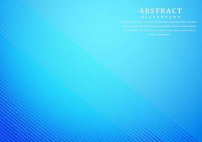 Fondo de líneas diagonales rayas azules abstractas vector
