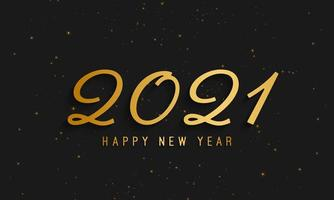 2021 Happy New Year background