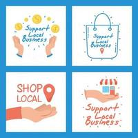 apoyar el conjunto de campañas comerciales locales