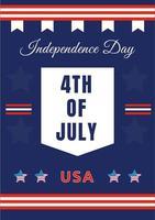 cartel del cuatro de julio