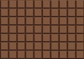 vector de barra de chocolate con leche
