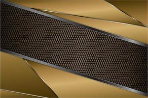 moderno fondo metálico dorado, gris y plateado