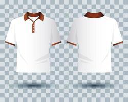 conjunto de maquetas de ropa de marca