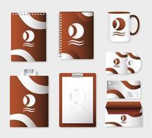 Branding and marketing mock-up set