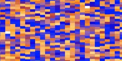 fondo azul claro, amarillo con rectángulos.