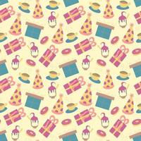 Cute Happy Birthday pattern