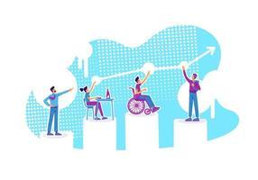 gráfico de educación inclusiva