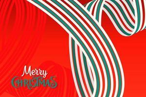 navidad y año nuevo fondo rojo