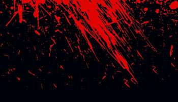 Bloody red grunge abstract texture background vector