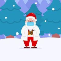 Christmas Dr Santa Character vector