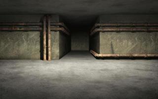 antiguo fondo industrial del sótano foto