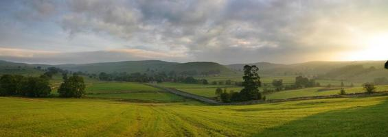 Early Morning, Malham, Yorkshire, England photo