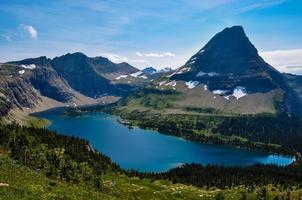 Hidden Lake Trail, Glacier National Park, Montana, USA photo