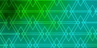 Light Green layout with lines, triangles.