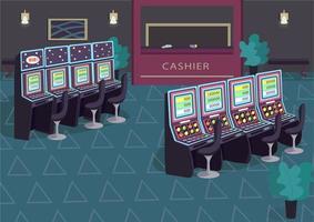 Slot machine row vector