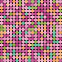 Abstract pattern with dots vector