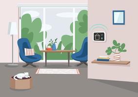 gestión inteligente del hogar vector