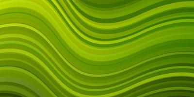 Green background with bent lines.