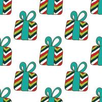 Merry christmas gifts pattern.