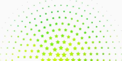 Light Green background with colorful stars.