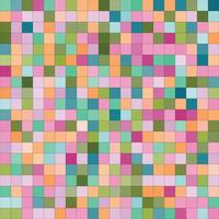 Abstract pattern with squares. vector