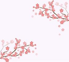 Cute cherry tree branches