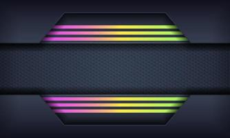Abstract Background with Colorful Gradient Lines