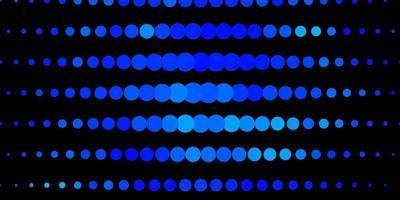 Dark blue pattern with spheres.