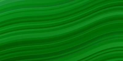 Light Green background with curved lines.