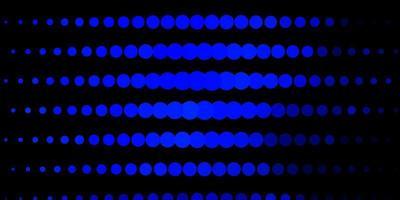 patrón azul oscuro con esferas.