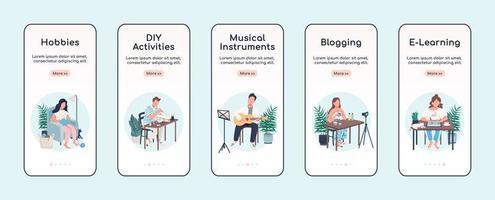 aprender la aplicación móvil de incorporación de pasatiempos creativos