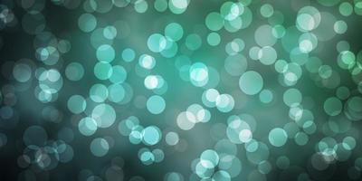 textura verde claro con discos. vector