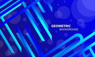 Fondo abstracto de líneas de cuadrícula diagonal azul con círculo