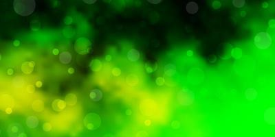 Light Green background with spots.