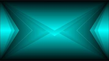 Tosca color neon light lines abstract background vector