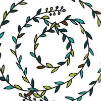 Zentangle mandala for coloring book vector