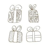 Merry Christmas  gifts boxes