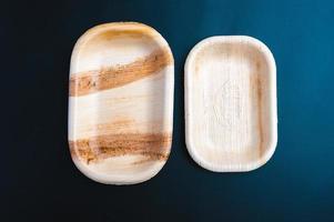 Eco environmentally friendly leaf plates