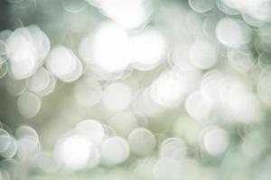 Fondo bokeh abstracto verde y blanco foto
