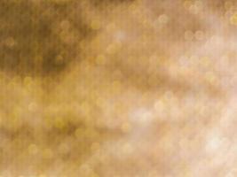Abstract gold bokeh