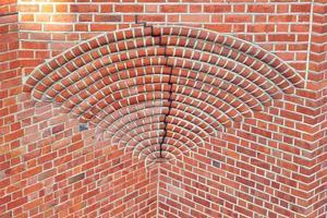 Old historical brick wall
