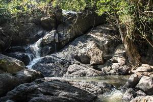 Stream at the Pha Kluai Mai waterfall