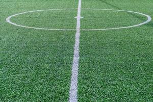 Artificial turf field