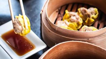 Chinese dim sum Shumai photo