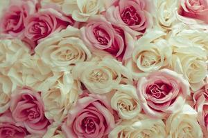 Fabric flower bouquet photo