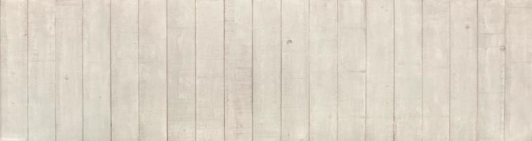 Panoramic white wood pattern