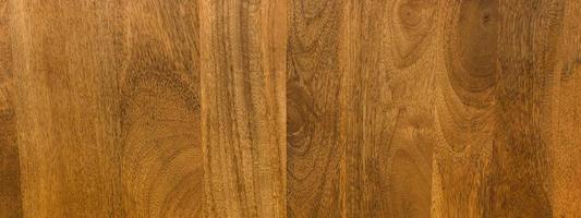 Panorama de cálida textura de grano de madera foto