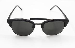 Fashion sunglasses isolated on white background photo