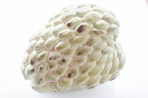 Close-up of a custard apple photo